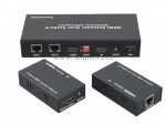 1x2 HDMI Amplifier Splitter over CAT5e/CAT6 Extend up to 50M 1 splitter 4 receivers