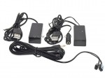 Wireless IR Blaster Remote Control Extender Kit For HD DVR Cable Box STB Set Top Box TV